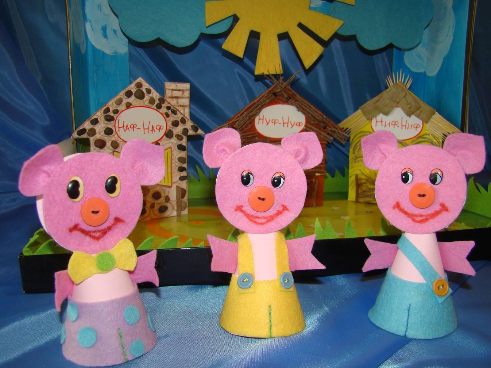 Фото поделок для театра в детском саду